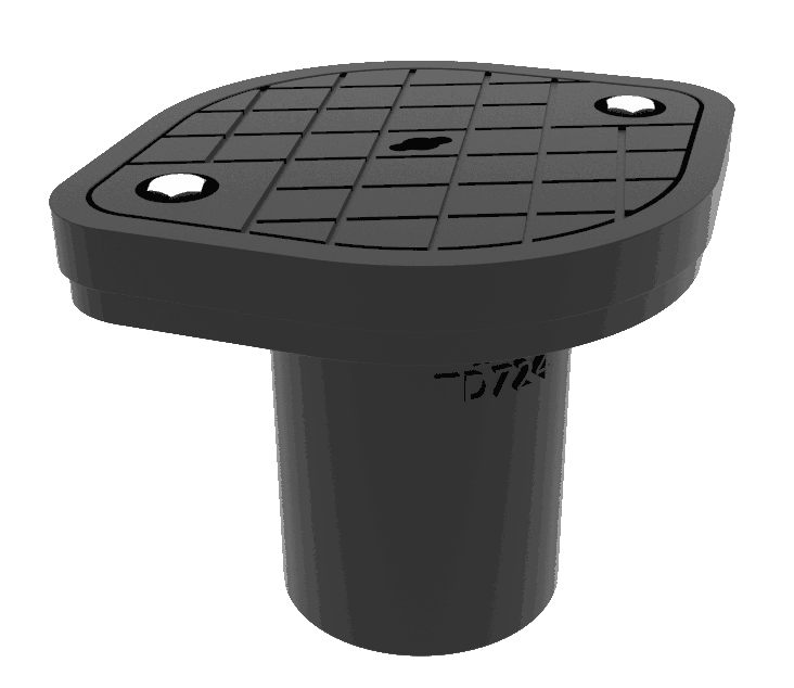 Timesaver TD724 Airtight inspection eye covers 100mm