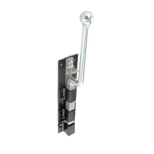 Securit S5184 Monkey Tail Bolt Black 300mm Pack Of 1