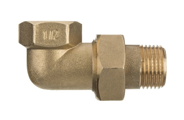 1 Inch Pipe Elbow Fittings Female x Male Brass Joint Union