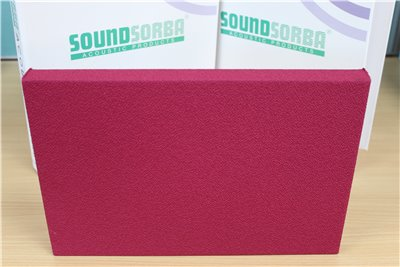 CLOUDSORBA™  Fabric Acoustic Panel 1200mm x 2400mm x 25mm Rectangle (2.88m2)