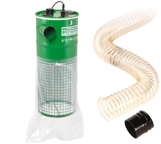 Record Power CGV286-3-WALL Cam Vac 150L 2000w Vacuum With 2 Metres Of Hose