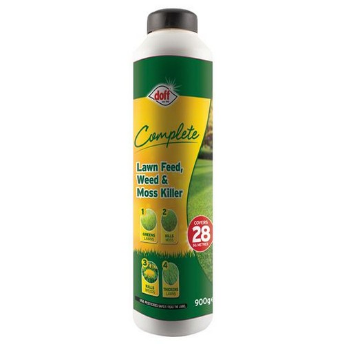 DOFF LM028 Complete Lawn Feed, Weed & Moss Killer 1kg