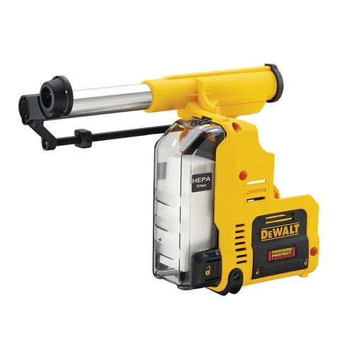 DeWALT D25303DH-XJ AND DWH079D Cordless Dust Extraction System 18V Bare Unit