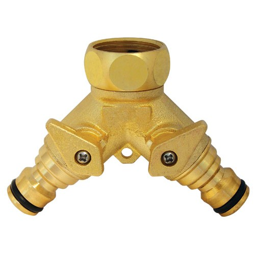CK G7918 Watering Systems 2 Way Tap Connector 3/4inch