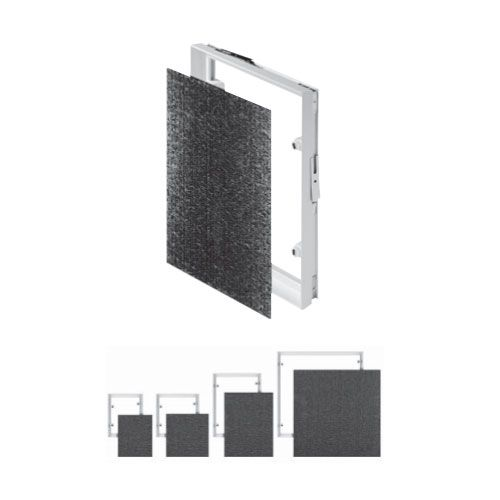 Tiled Magnetic Access Panel Control Hatch Inspection Service Door Caches Locks - 150X150 MPCV1