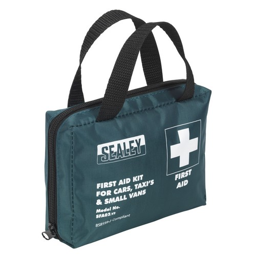 Sealey SFA02 Compact Travel First Aid Kit