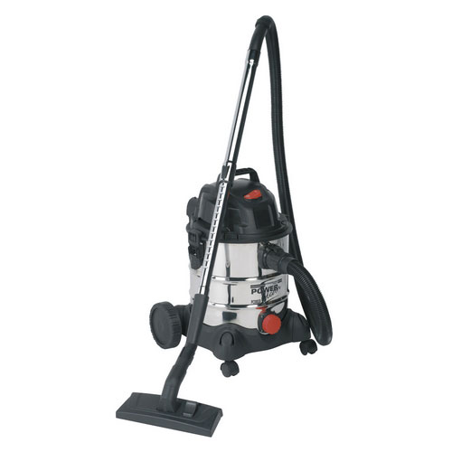 Sealey PC200SD 20ltr Wet & Dry Industrial Vacuum Cleaner 1250W Stainless Bin