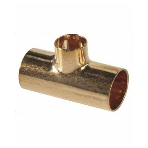 28x15x28mm Copper Pipe Tee Fitting Connector Solder Joint