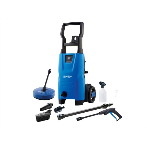 Kew Nilfisk Alto 128470804 C110.7-5 PCA X-TRA Pressure Washer With Patio Cleaner & Brush 110 Bar 240 Volt
