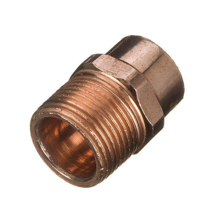 Endfeed Male Iron Adaptor - 15mm x 1/2andquot;