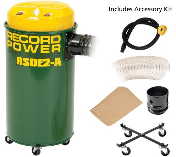 Record Power RSDE/2A Fine Filter 50 Litre Extractor With Switching