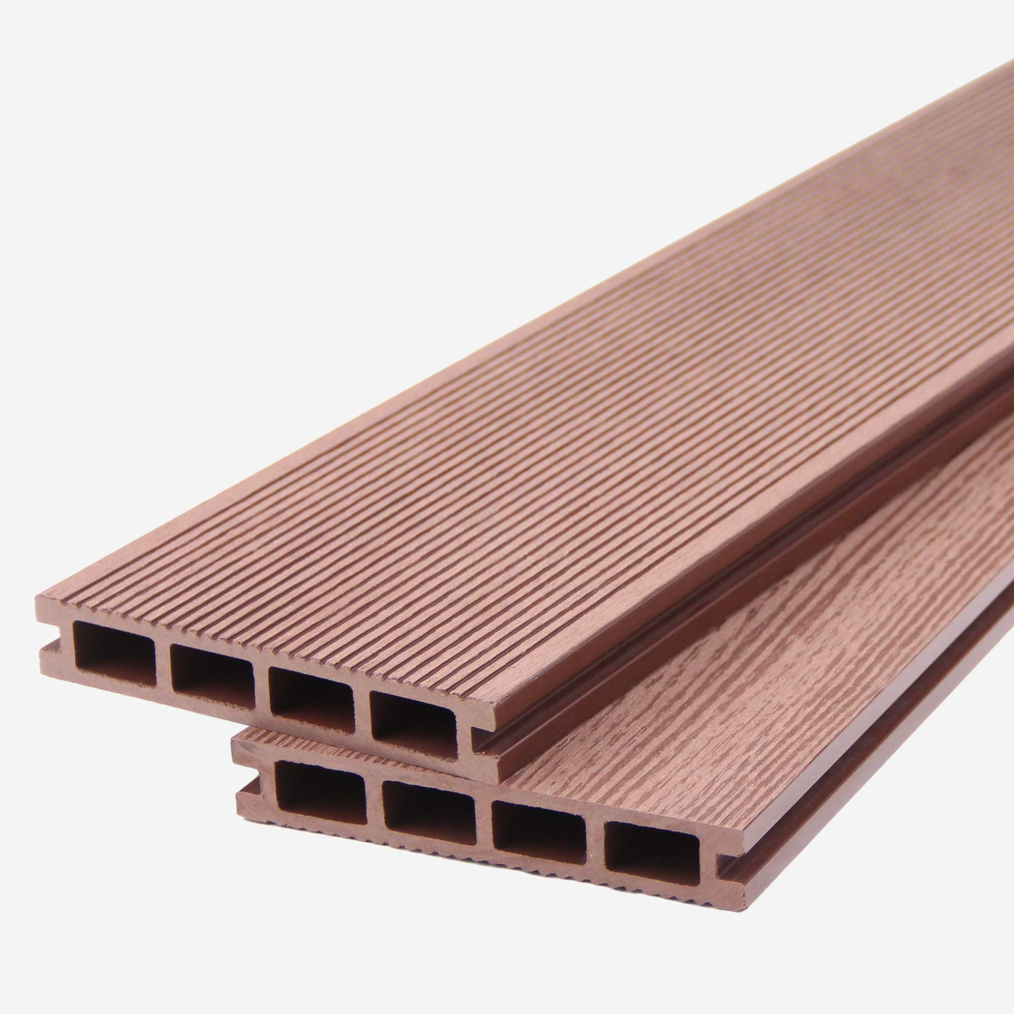 Composite Decking Boards | Chocolate Brown (Board Length: 2.9 meter (9.5ft)