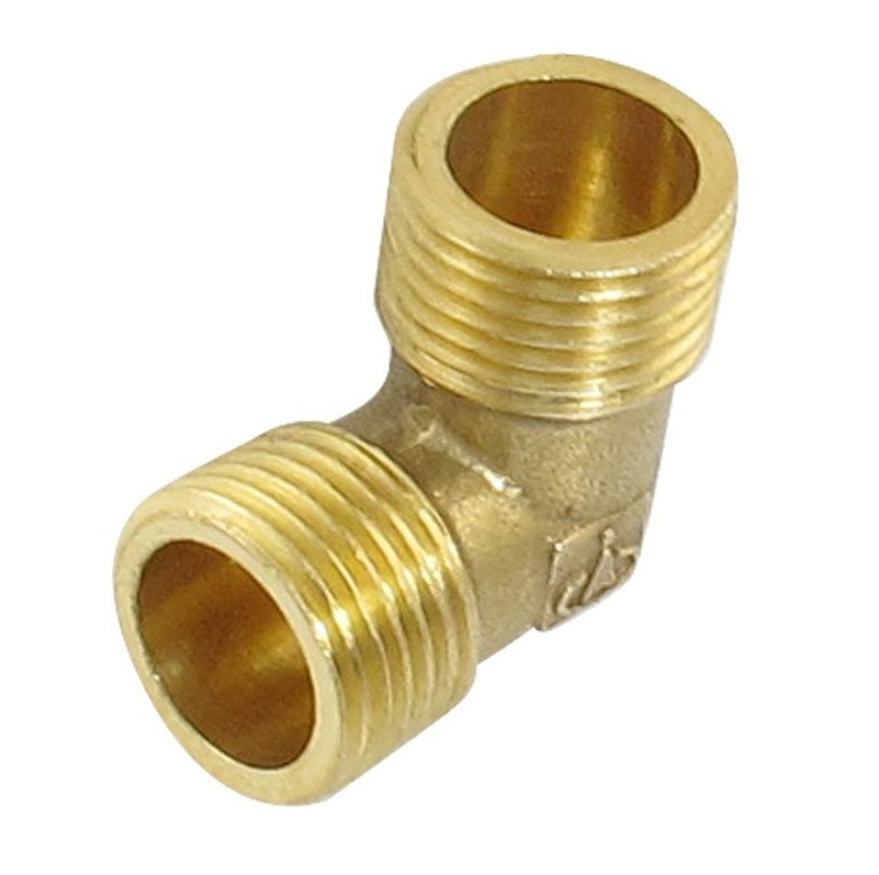 1 Inch Pipe Elbow Fittings Male Adapter Thread Connector Brass