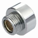3/4x1/2 Inch Pipe Thread Reducer Connection Female x Male Fittings Chrome