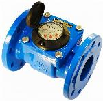 DN250 250mm Blue Cast Iron Industrial Water Meter Flow Counter for Cold Water