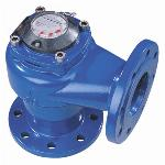 80mm Industrial Water Meter Angled Cast Iron for Wells Flow Counter