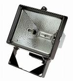 Defender 500w Tungsten Halogen Head with Bulb, Cable & Plug - 240v