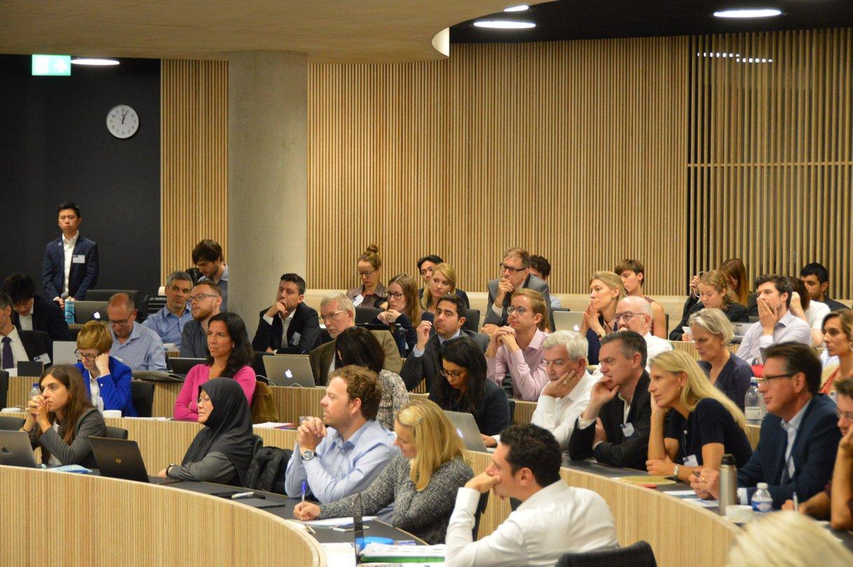 Social Outcomes Conference participants