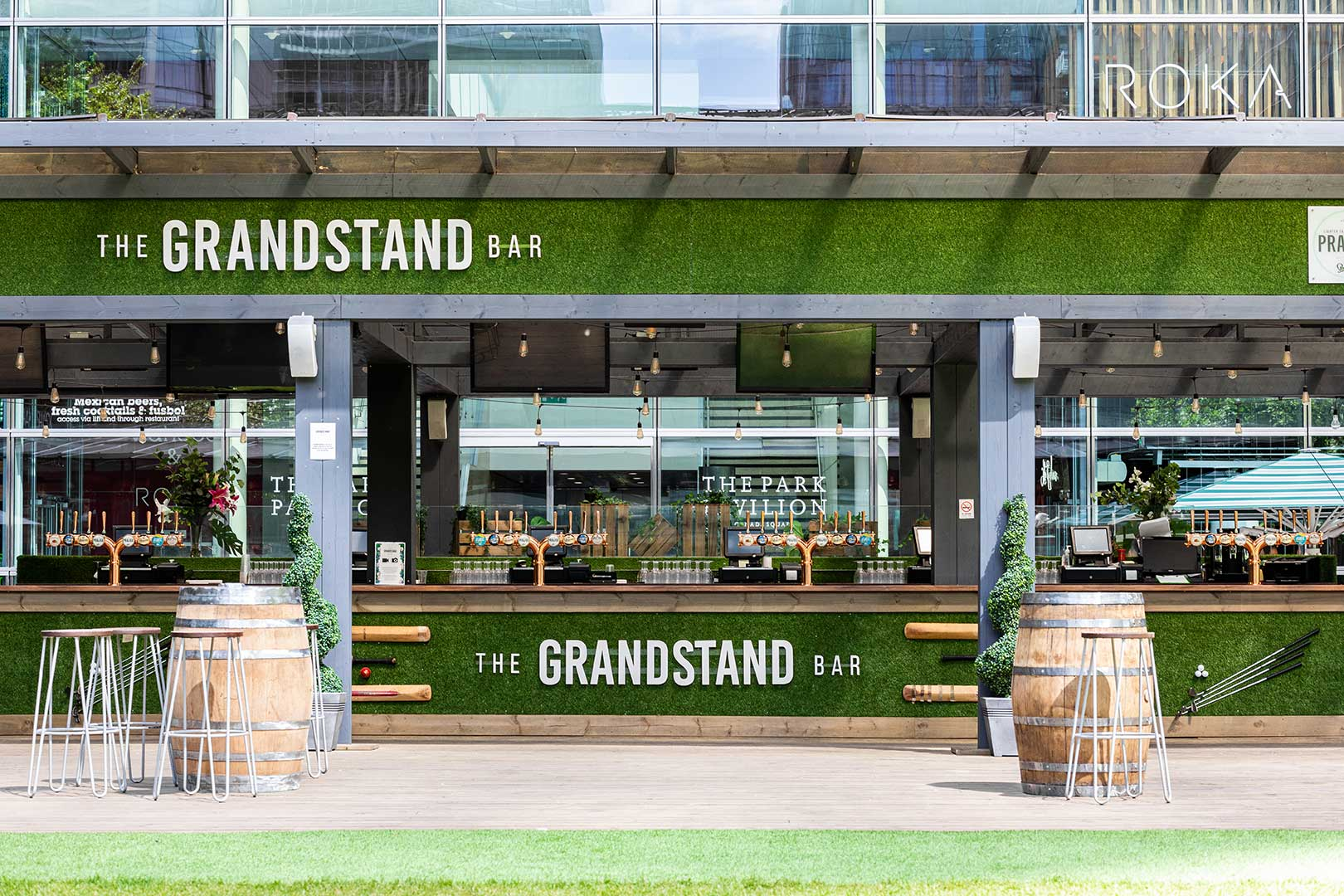 The Grandstand Bar