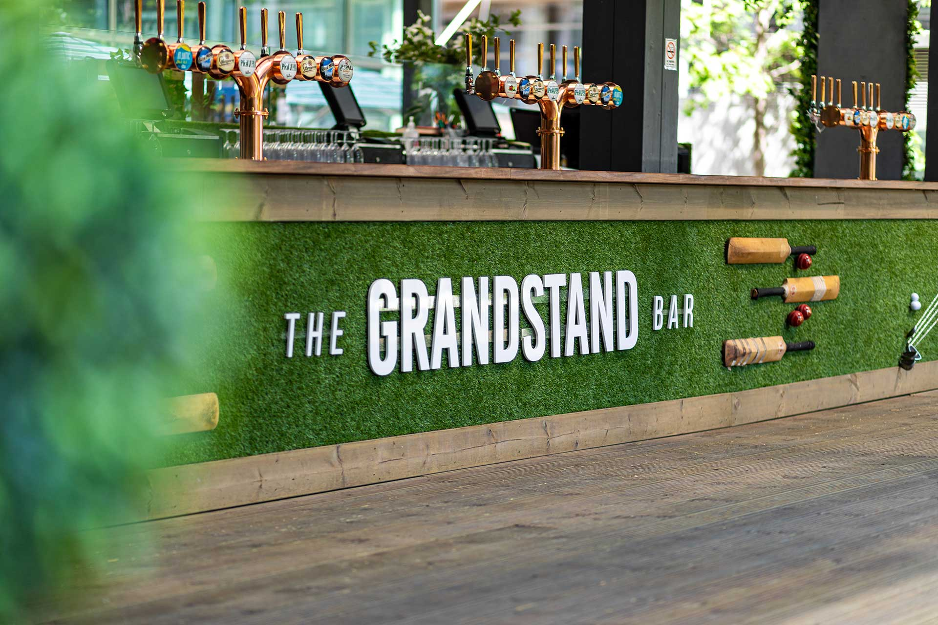 The Grandstand Bar Cinema