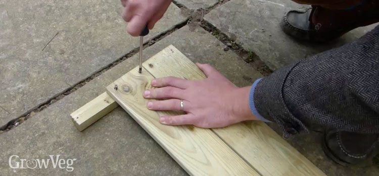 Making a cold frame