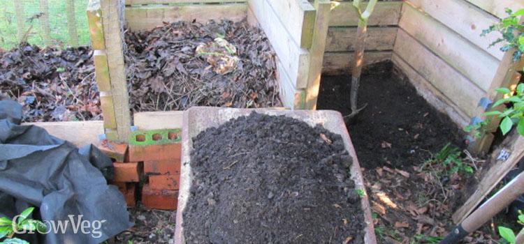 Composting bays