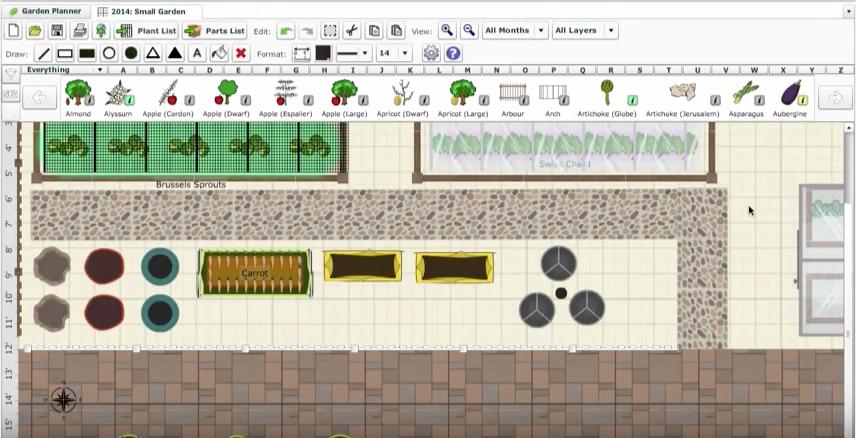 Container garden plan