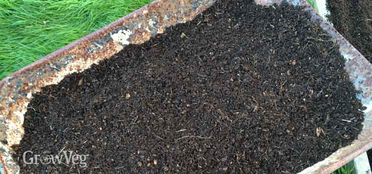 Good rich compost for the garden