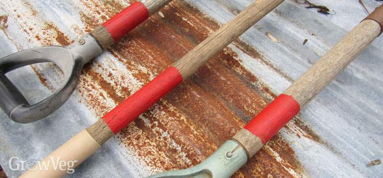How to Clean and Oil Wood-Handled Garden Tools
