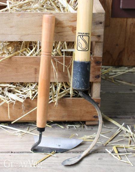 Essential vegetable garden weeding tools