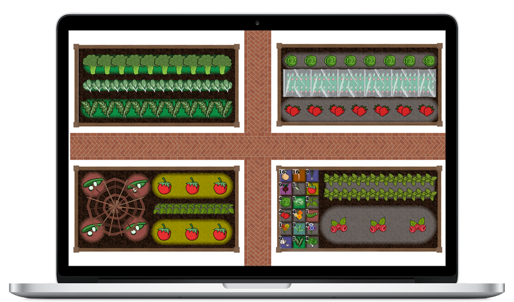 Vegetable Garden Planner And Garden Design Software