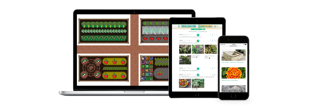 Vegetable Gardening Layout apps