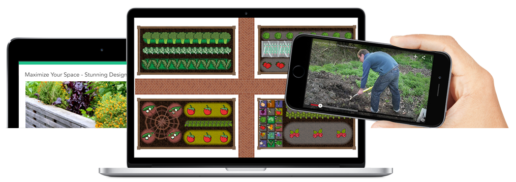 Garden Planning Apps for desktop and mobile devices