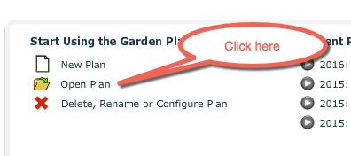 Open Garden Plan