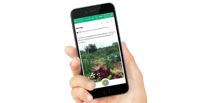 App to record your gardening progress