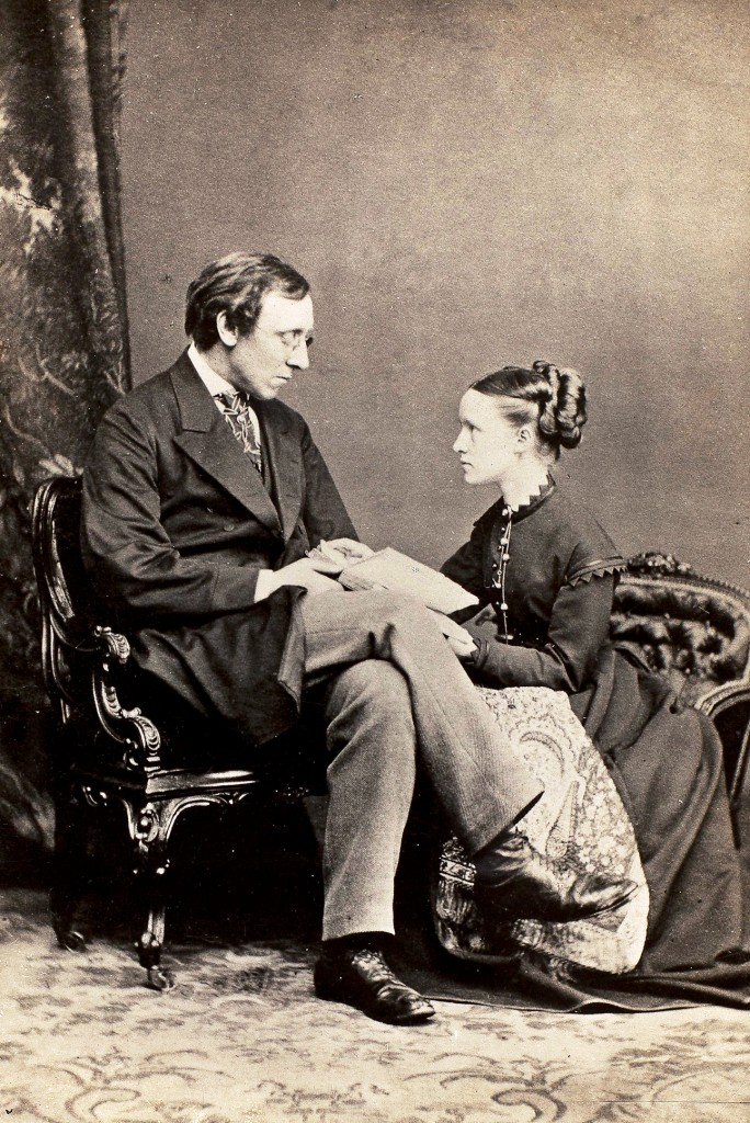 Photograph of Henry and Millicent Fawcett
