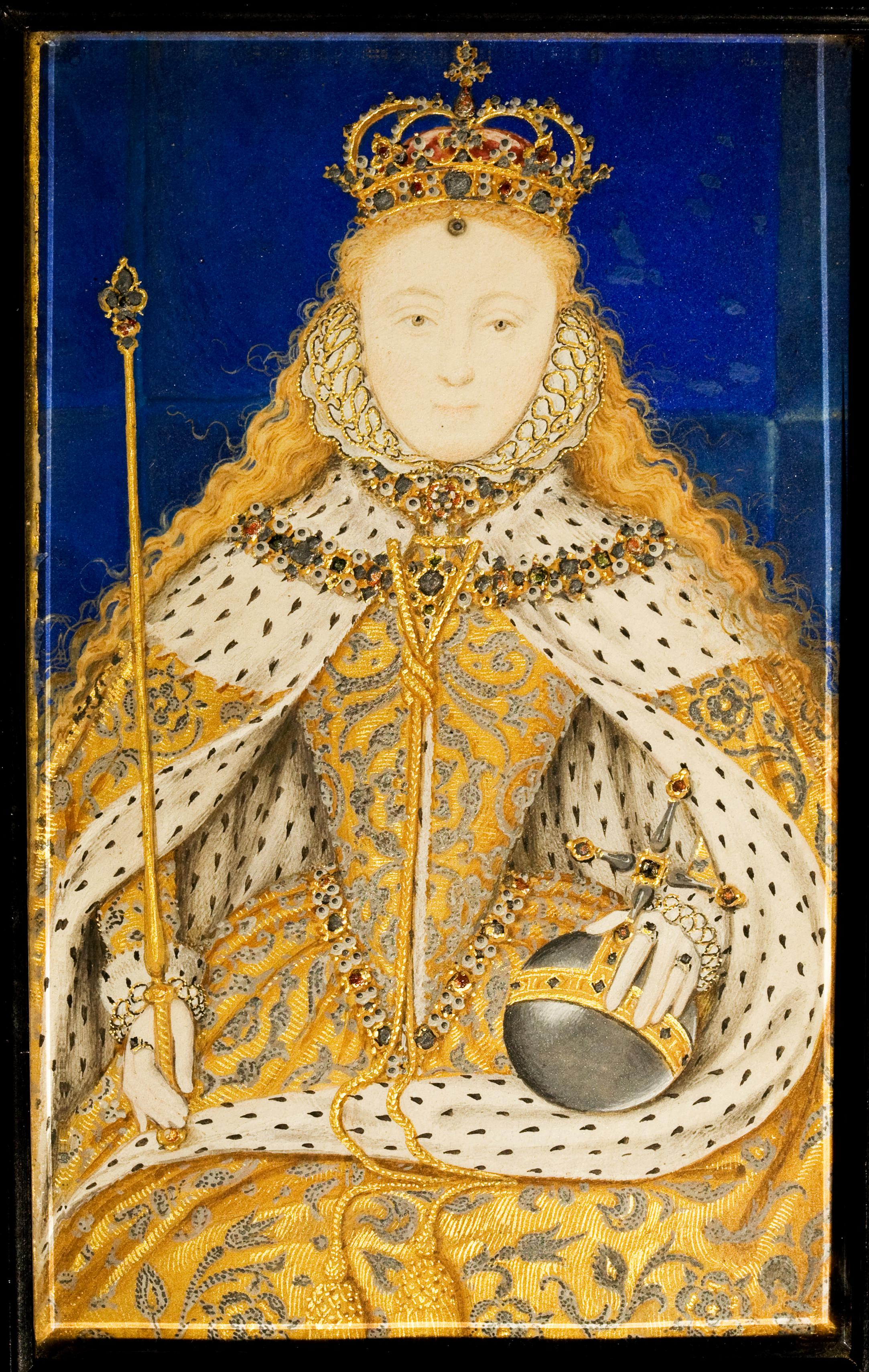 Queen Elizabeth I by Nicholas Hilliard