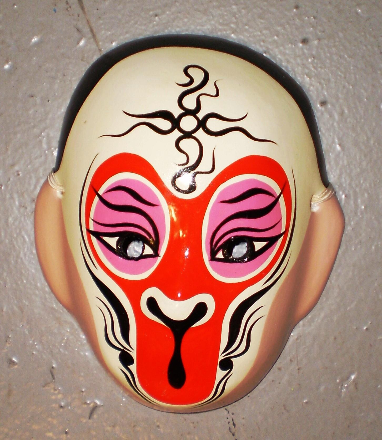 Chinese Opera Monkey Mask