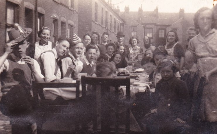 VE Day Street Party 1945