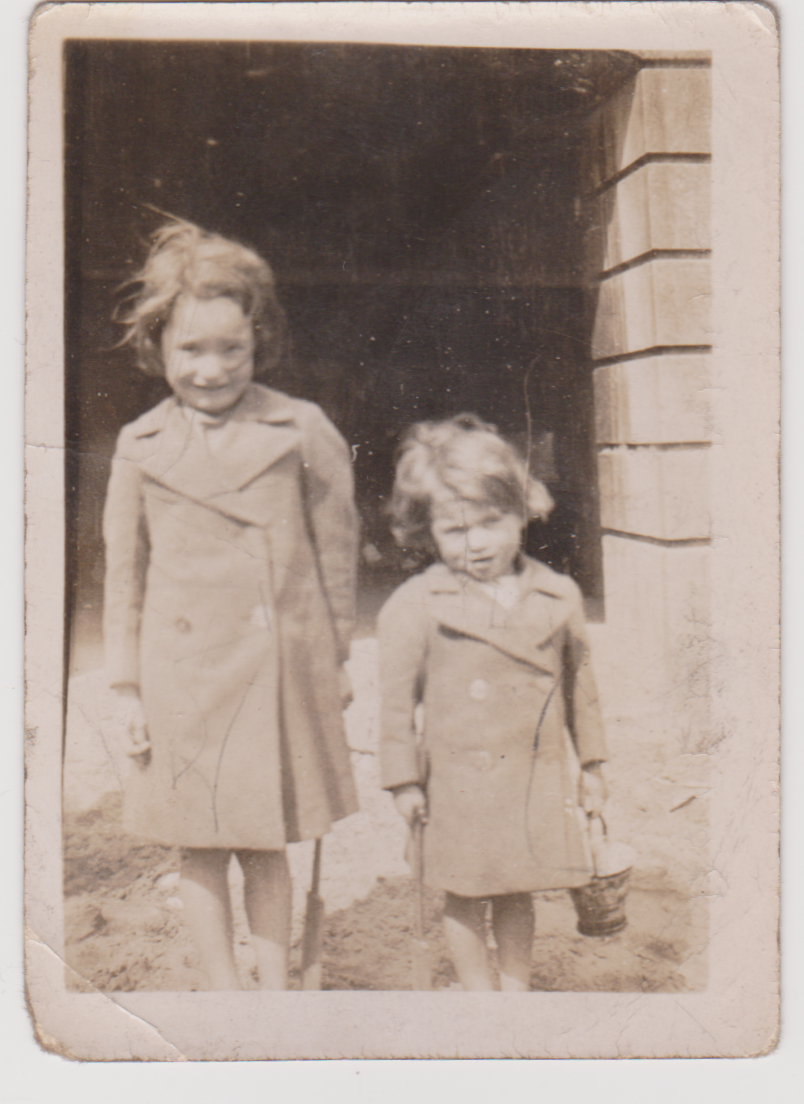 Annie Clarke and Her Sister Doreen