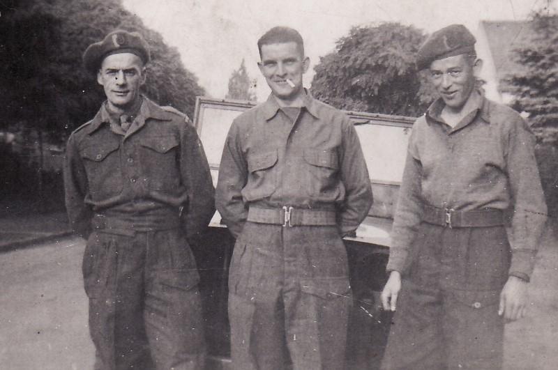 Ernest Clarke in Army Uniform