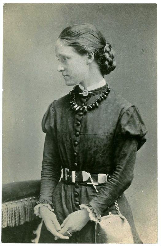 Photo of Millicent Garrett at 18