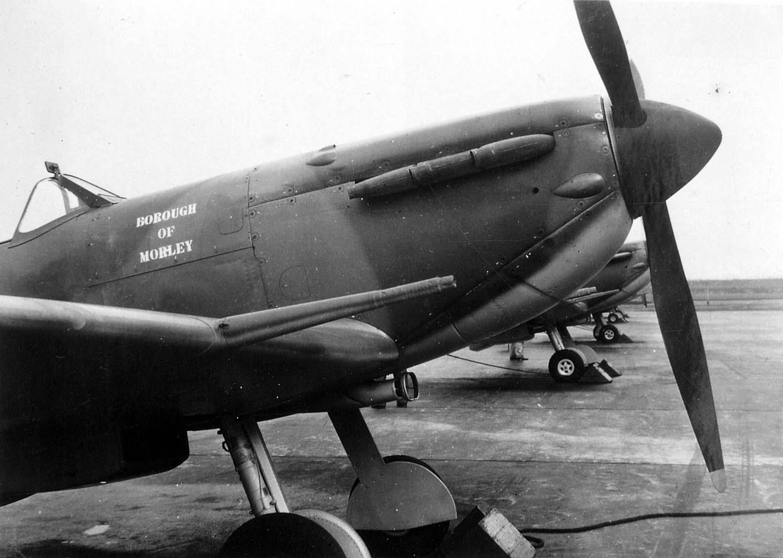 Mark II B Spitfire aeroplane 1941
