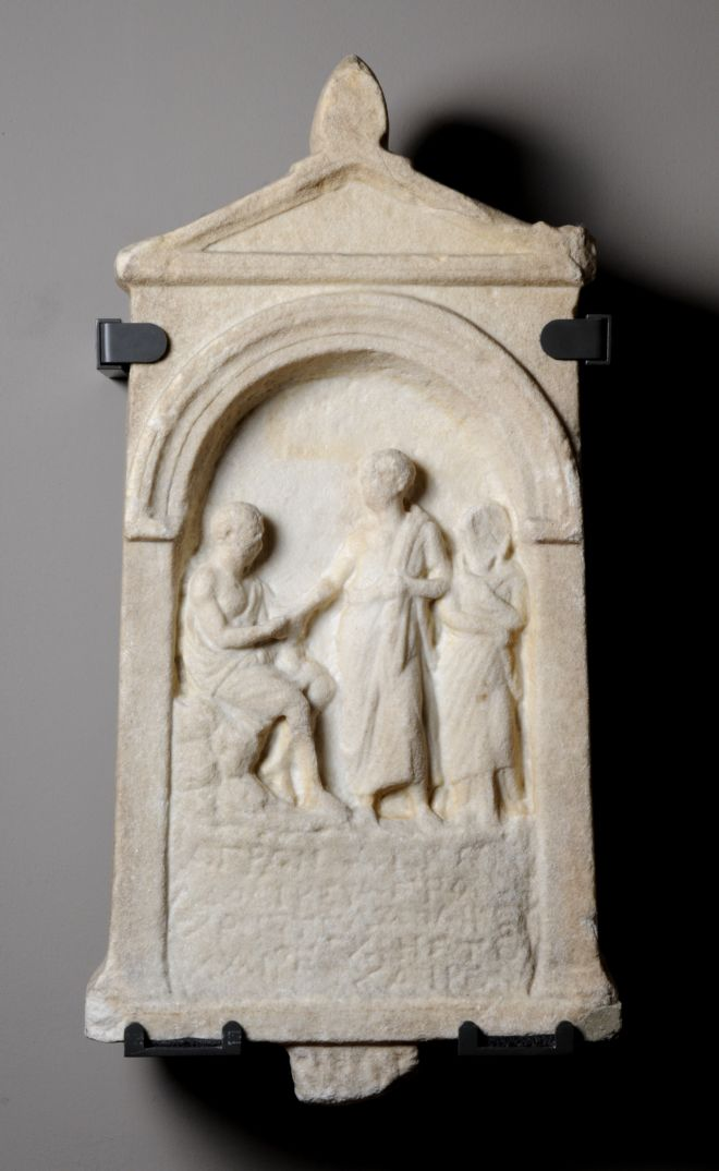ancient greek funerary practices