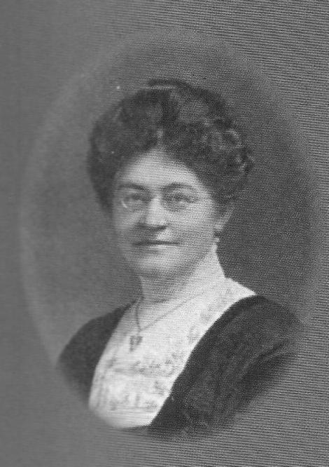 Miss Florence Anstey, Headmistress