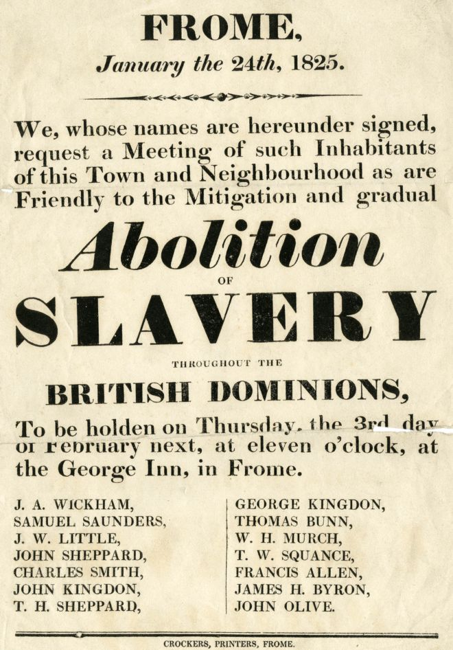 the abolition of the british slave The slave trade act 1807 or the abolition of the slave trade act 1807, was an act of the parliament of the united kingdom passed on 25 march 1807, with the title of an act for the abolition of the slave trade the original act is in the parliamentary archives.