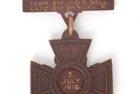 Donald Simpson Bell's Victoria Cross