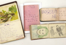 Selection of WW1 autograph books from the York & Lancaster Regiment