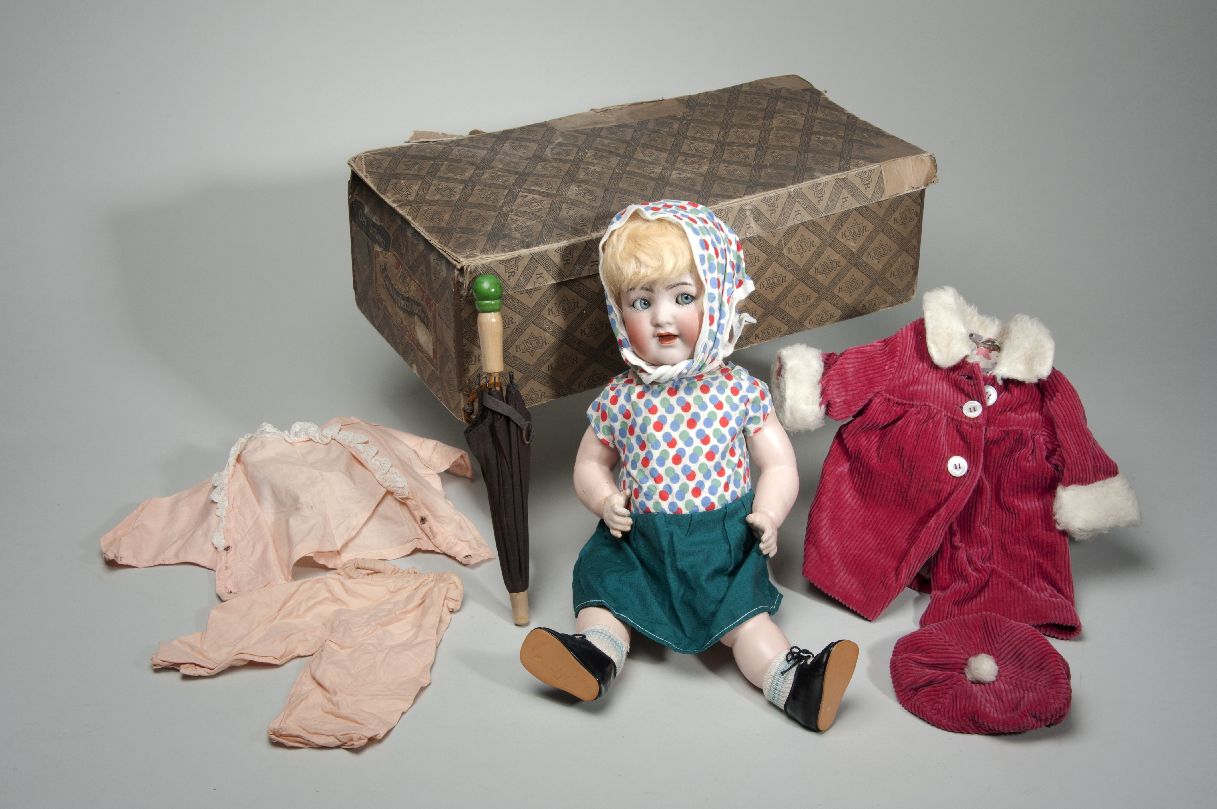 Doll Belonging to a Refugee From East Prussia