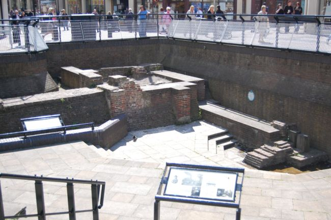 Photo of old city walls in Hull